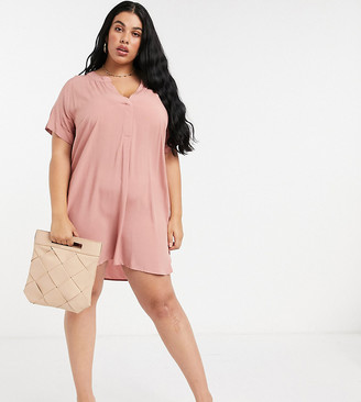 Junarose oversized dress in pink