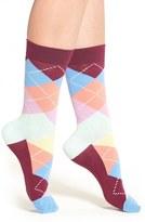 Happy Socks Women's 'Checker' Low Cut Athletic Socks