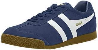 Gola Men's Harrier Suede Sneakers, Blue (Baltic/White Hw)