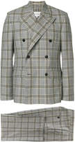 Maison Margiela Prince of Wales check double breasted suit