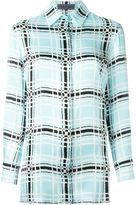 Ungaro checked print shirt - women - Silk - 42
