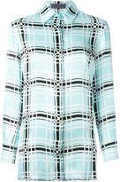 Ungaro checked print shirt - women - Silk - 42