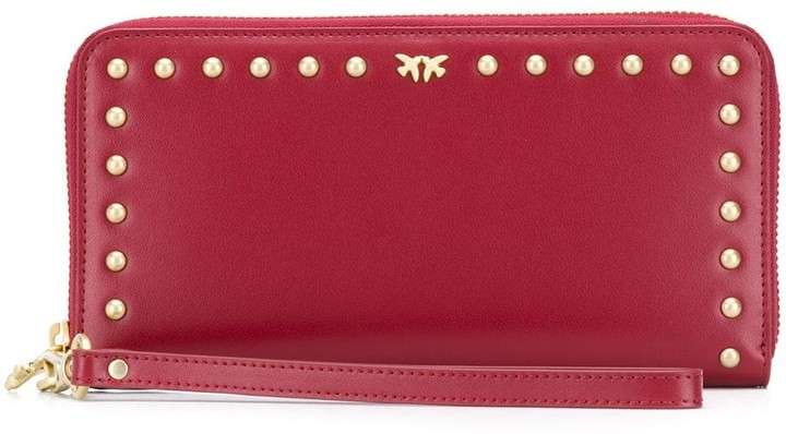Pinko Studded Continental Purse