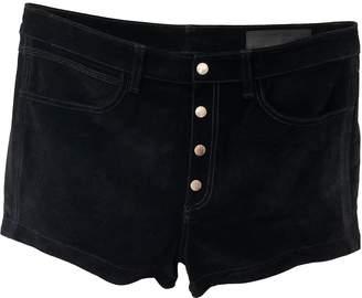 Rag & Bone Black Suede Shorts for Women