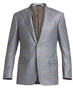 Giorgio Armani Men's Plaid Sportcoat