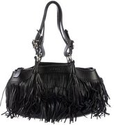 Hogan Fringe Leather Shoulder Bag