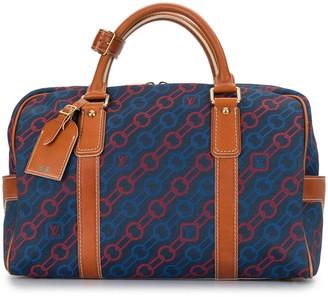 Louis Vuitton 2006 pre-owned Carryall chain print bag