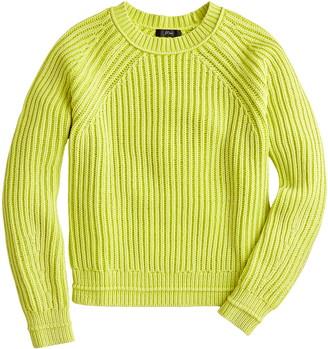 J.Crew Garment Washed Crewneck Sweater