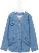 Stella McCartney appliqué denim shirt