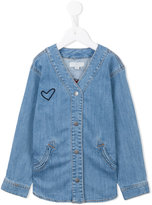 Stella McCartney appliqué denim shirt