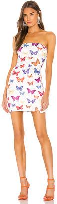 superdown x Draya Michele Chloe Strapless Bodycon Dress