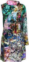 A.F.Vandevorst Dulcet one shoulder dress