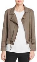 Pam & Gela Cropped Moto Jacket