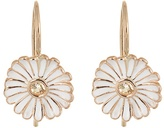 Alison Lou Sapphire, enamel & yellow-gold Daisy earrings
