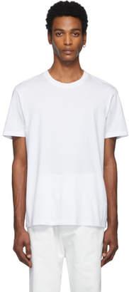Maison Margiela Three-Pack White and Off-White Jersey T-Shirt