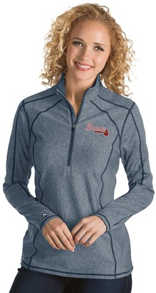 Antigua Women's Atlanta Braves Tempo Pullover