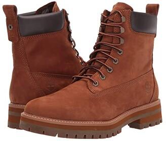 Timberland Courma Guy Waterproof Boot (Rust Nubuck) Men's Boots