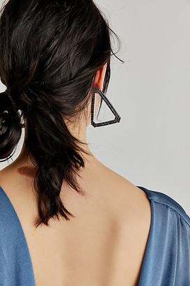 Free People Triangle Statement Earrings