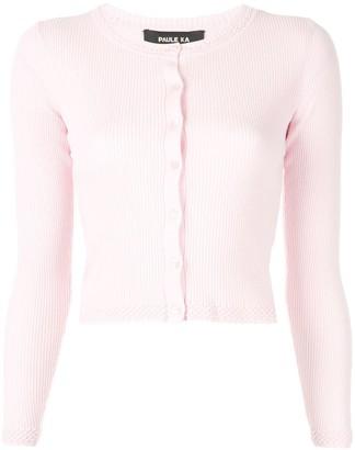 Paule Ka long-sleeve fitted cardigan