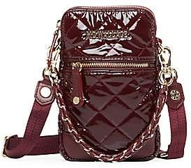 MZ Wallace Women's Micro Quilted Patent Crossbody Bag