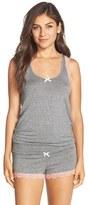 Honeydew Intimates Women's Lace & Jersey Short Pajamas