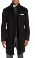 Corneliani Men's Classic Fit Wool Overcoat