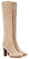 Loro Piana Sharmaine Suede Knee Boots