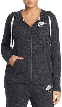 Nike Plus Gym Vintage Full Zip Hoodie