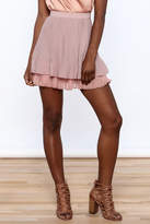 Endless Rose Old Rose Pleated Skirt
