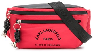 Karl Lagerfeld Paris Rue St Guillaume bumbag