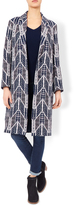 Monsoon Mona Jacquard Coat