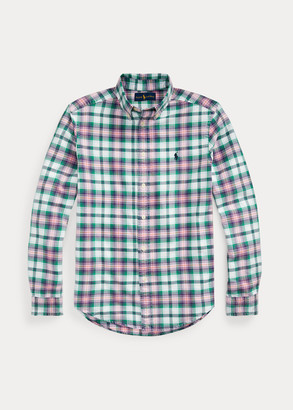 Ralph Lauren Plaid Cotton Oxford Shirt