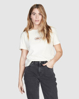 Quiksilver Womens Washed Cropped T Shirt