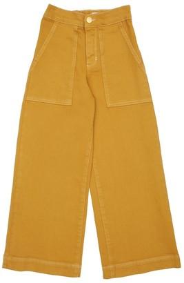 Molo Stretch Cotton Flared Pants