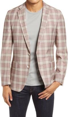 HUGO BOSS Hartlay Plaid Wool Sport Coat