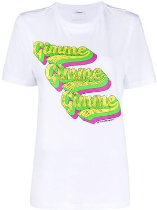 P.A.R.O.S.H. 'Gimme' rhinestone T-shirt