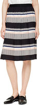 Kate Spade Bay stripe pleated skirt