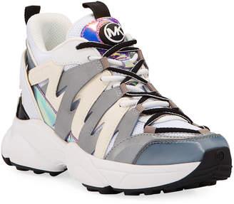 MICHAEL Michael Kors Hero Colorblock Trainer Sneakers