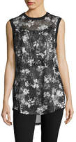 Ivy Park Camouflage Mesh Tank Top