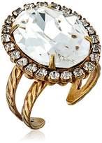 Sorrelli Classic Oval Cut Ring, Size 7-9