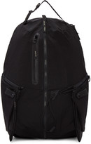 Master-piece Co Black Zippers Backpack