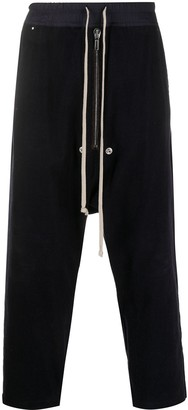 Rick Owens Low-Rise Drop-Crotch Trousers