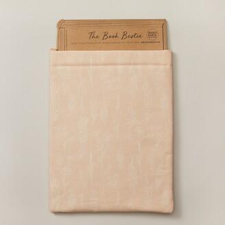 Indigo Paper Good Earth Book Bestie Book Sleeve Pink Wildflower
