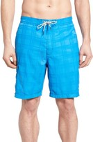 Tommy Bahama Men's Big & Tall Baja Plaid Swim Trunks