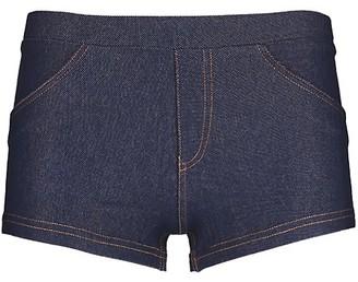 Me Moi Cheeky Denim Shorts