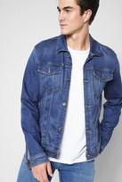7 For All Mankind Luxe Sport Trucker Jacket In Retrograde