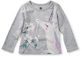 Tea Collection Toddler Girl's Unicorn Garden Tee