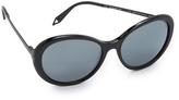 Victoria Beckham Fine Oval Sunglasses