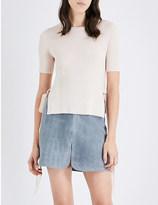 See by Chloe Ribbed wool top