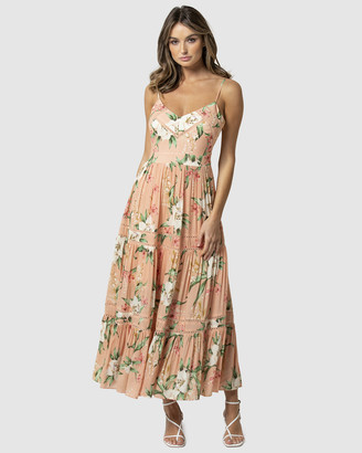 Forever New Tanya Tiered Maxi Dress